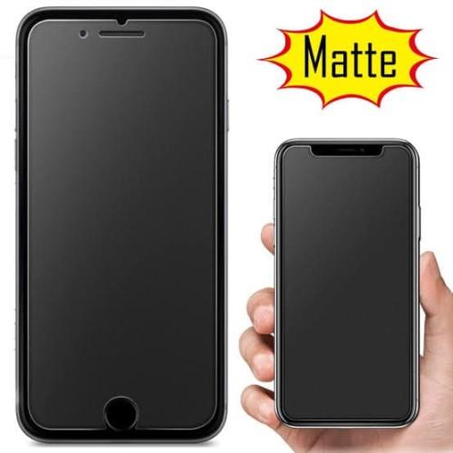 Foto Produk TEMPERED GLASS MATTE GLARE ANTI FINGER IPHONE 7 PLUS 8 PLUS 8+ dari Platinum mobile phone