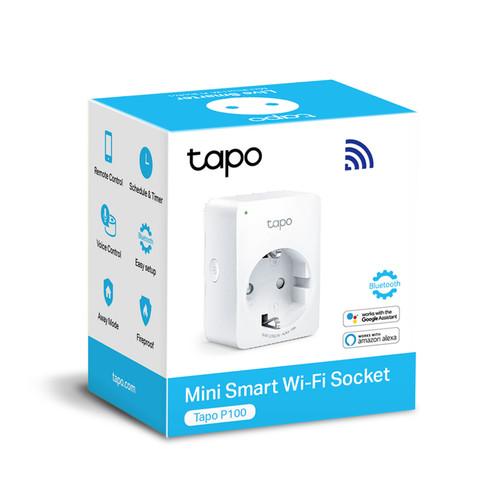 Foto Produk TP-Link Tapo P100 Mini Smart WiFi Socket - Garansi Resmi dari Surya Mitra Online