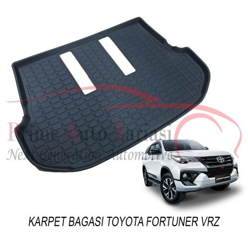 Foto Produk Karpet Karet Bagasi Trunk Tray Luggage Tray Mobil Fortuner VRZ 2016 dari Prime Auto Variasi