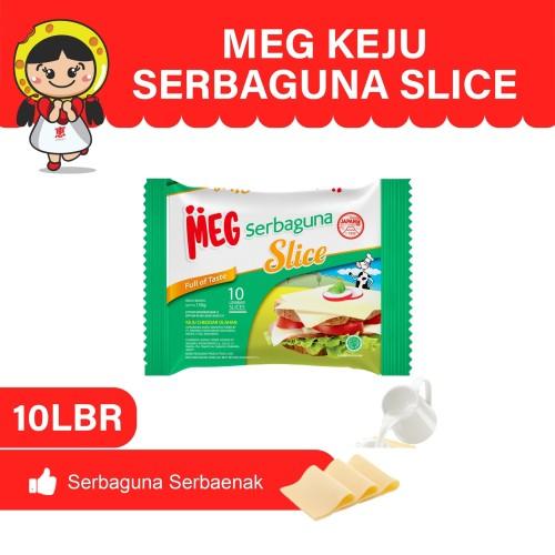 Foto Produk MEG Keju Serbaguna Slice 10 slices dari MEG Cheese Indonesia