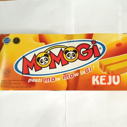 Foto Produk Momogi mini pack 8gram. Box isi 20 bks. - Keju dari snack_it