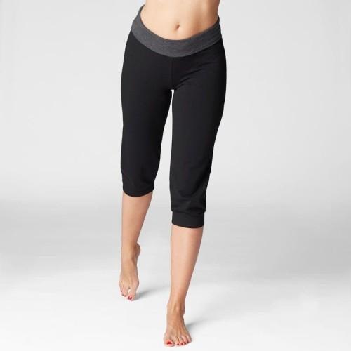 Foto Produk Decathlon Celana Yoga Hitam Wanita 3/4 Decathlon - 8574064 - XL - W35 L29 dari Decathlon Indonesia