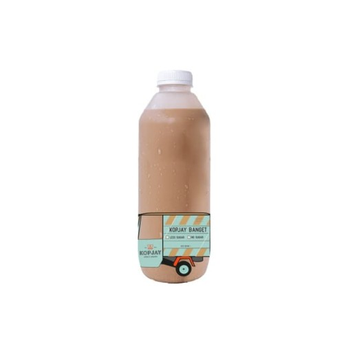 Foto Produk Es Kopi Susu Gula Aren Botol 1 Liter - Kopjay Banget (extra/strong) dari Kopjay Coffee Companion