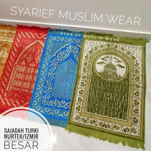 Foto Produk Sajadah Turki Soft - Nurtex MR dari Syarief Muslim Wear