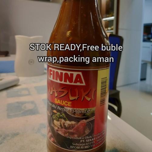 Foto Produk Finna sauce saos sukiyaki inasuki shabu 340 ml mirip sma saos resto dari Diberkati Selalu Store