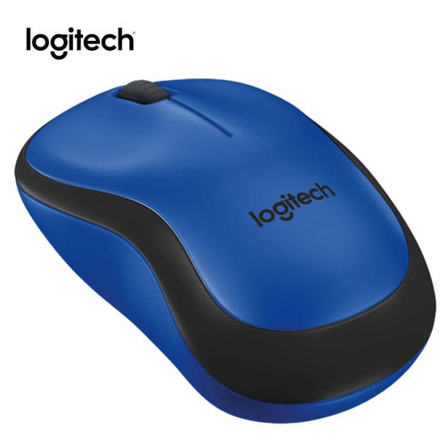 Foto Produk Logitech M221 Mouse Wireless Logitech Silent - original - Biru dari PlanetAksesories
