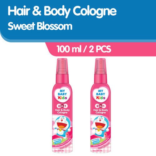 Foto Produk My Baby Kids 2 in 1 Cologne [100 ml / 2 Pcs] - Sweet Blossom dari Tempo Store Official