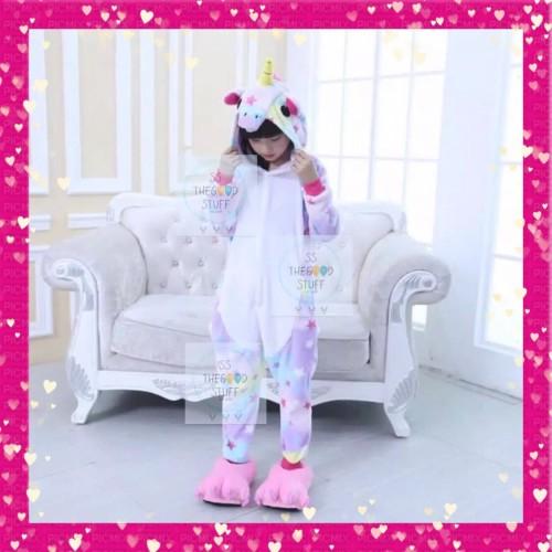 Foto Produk Kostum Anak Unicorn / Cosplay Piyama Kuda Unicorn Best Seller! - 130 dari SS TheGoodStuff
