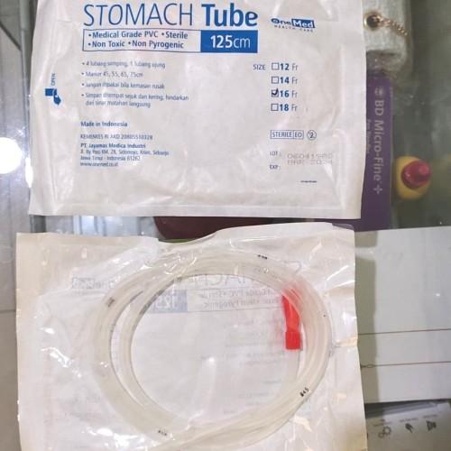 Foto Produk Selang makan NGT stomach tube FR 16,FR 18 panjang 125 cm - FR 18 dari VLexina OLshop