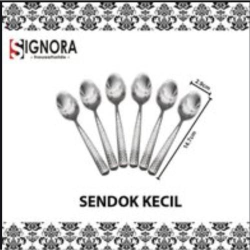 Foto Produk SIGNORA TEASPOON 6 PC + bonus hadiah langsung!!! dari Signora household store