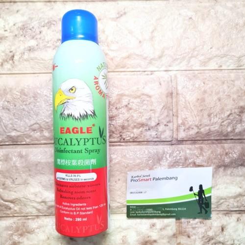 Foto Produk PALEMBANG Eagle Eucalyptus Disinfectant Spray 280ml dari Karbol Sereh Palembang