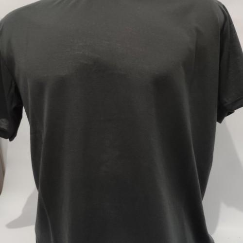 Foto Produk Baju Kaos Polos Oblong Pria Wanita XL XXL Grosir - Hitam, XXL dari King Packing