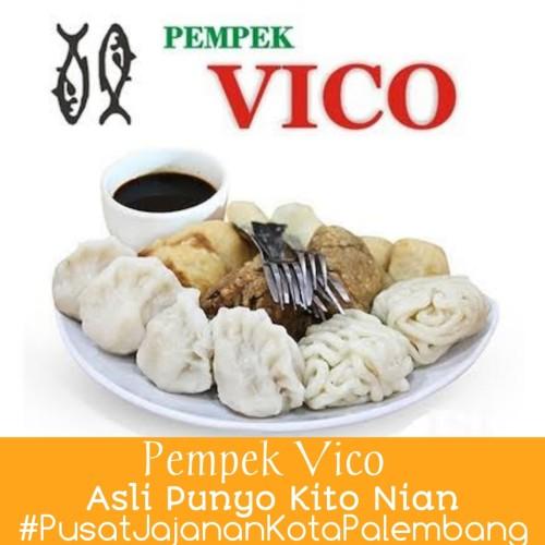Foto Produk PROMO!! PEMPEK VICO ASLI PALEMBANG EMPEK EMPEK VICO PAKET AMPERA 150 dari AMPERASHOP10