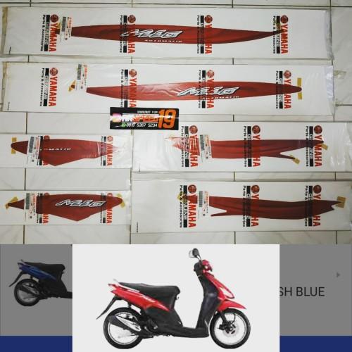 Foto Produk sticker striping yamaha mio sporty merah 2007 2008 dari RKspeed19