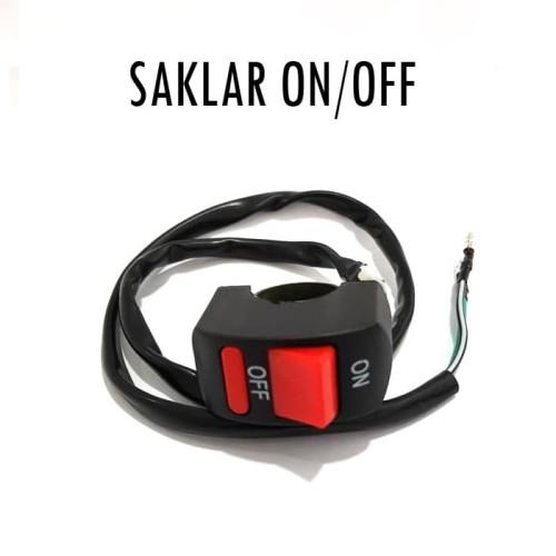 Foto Produk Saklar / Power Switch On / Off Lampu Motor Stang Outdoor dari Garuda LED