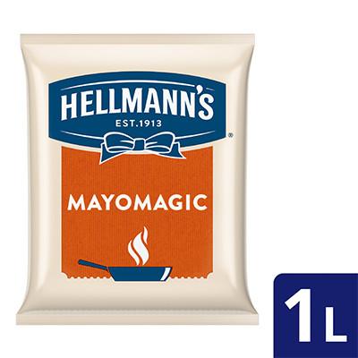 Foto Produk Hellmann's Mayo Magic Pouch 1L dari Unilever Food Solution