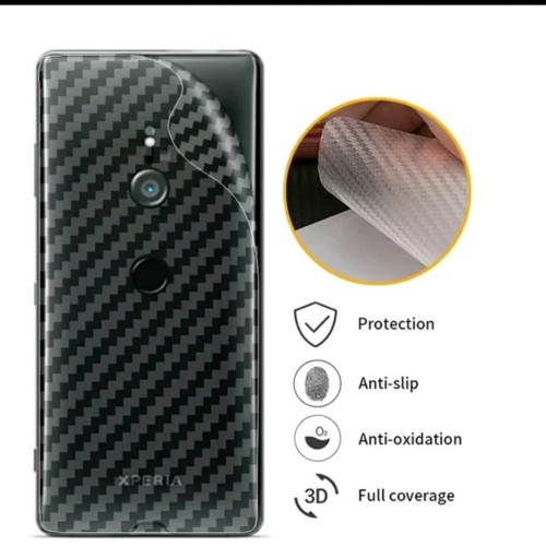 Foto Produk Anti Gores Sony Xperia XZ2 Belakang Film 3D Skin Carbon fiber dari AZ Store 91