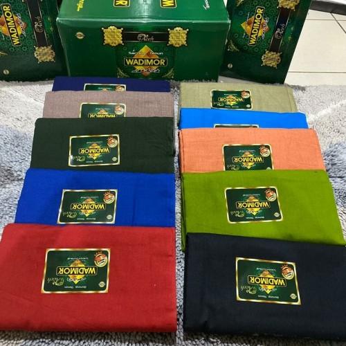 Foto Produk Sarung Wadimor Polos Warna dari SOMEAH ONLINE SHOP