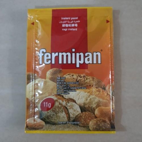 Foto Produk FERMIPAN RAGI KERING 4 x 11 GRAM/INSTANT YEAST /RAGI KERING dari risckyshop