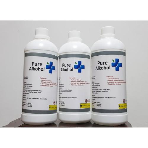 Foto Produk Alkohol 80% (bahan utama Handsanitizer & disinfektan) dari calmoshop