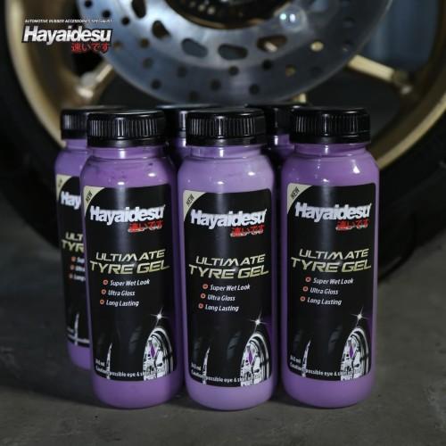 Foto Produk Hayaidesu Tyre Gel Tire Gel Semir Ban dari Hayaidesu Indonesia