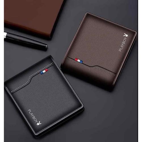 Foto Produk W48 Dompet Pria Pendek Play B Men Short Wallet - brown dari EnnWen Online Store