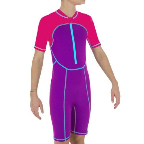 Foto Produk Nabaiji Baju Renang Pendek Anak PinkUngu Decathlon - 8512890 - 6 dari Decathlon Indonesia