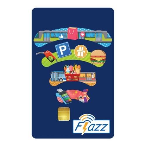 Foto Produk Kartu Flazz Reguler Biru Berlogo Baru dari Flazz Official Shop