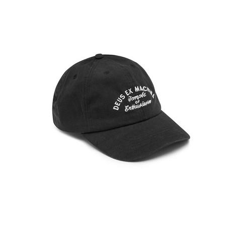 Foto Produk DEUS - CLASSIC DAD CAP - BLACK dari Deus Ex Machina Official