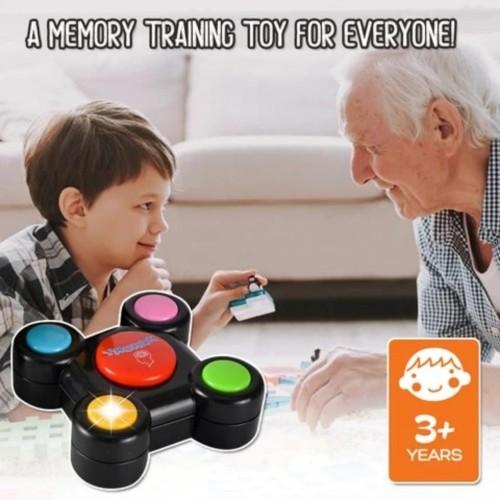 Foto Produk MB144 Mainan Anak Memory Game Ikutin Gerak Lampu Dan Suara Game dari Mmtoys Indonesia