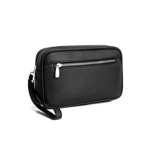 Foto Produk KEE Tas Tangan Handbag Pria Wanita Kulit Macaw 2.0 Black - Hitam dari KEE INDONESIA