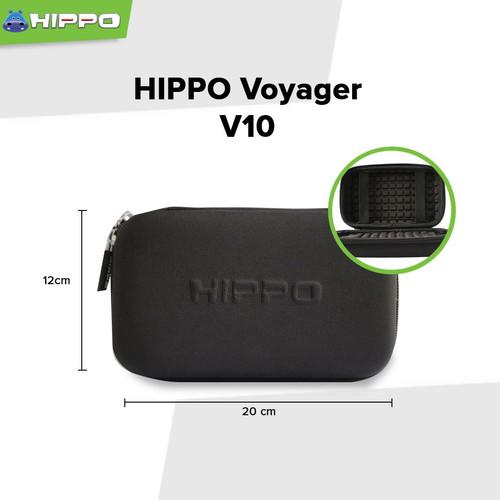 Foto Produk Hippo Voyager V10 Mini shockproof Travel Bag Tas Power Bank Organizer - Hitam dari Hippo Official Store