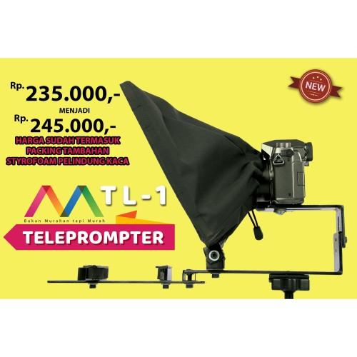 Foto Produk Teleprompter Kamera Teleprompter Hp Teleprompter Tablet TL-1 SEMUT dari SEMUT DIY