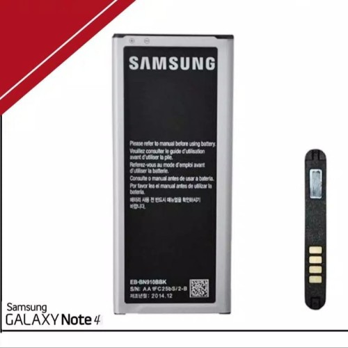 Foto Produk Baterai battery batre samsung galaxy note 4/N910 Original 99,9% dari Brother88cell