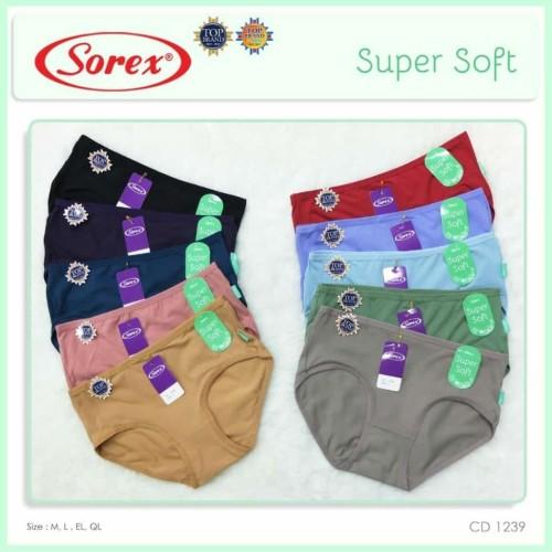 Foto Produk Celana Dalam murah dan nyaman merk Sorex 1239 - Size QL dari Style Up