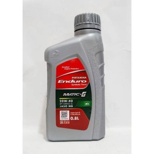 Foto Produk Pertamina Enduro Matic G 20/40 4T 800ML (Dijamin Asli) dari Makmur Jaya Motor Depok