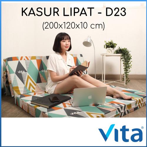 Foto Produk KASUR LIPAT VITA - 200x120x10cm - PRODUCT OF JAPAN dari pusat matras indonesia