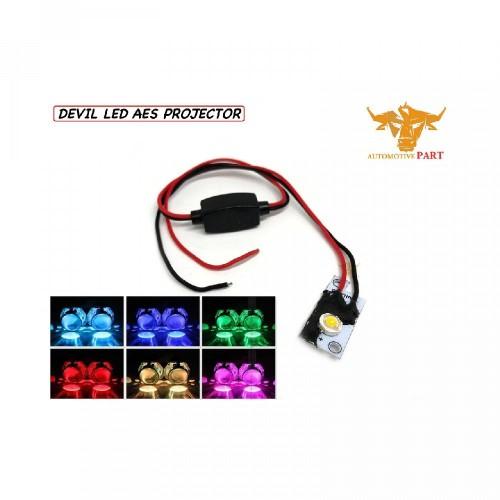 Foto Produk LAMPU DEVIL EYE LED AES I LAMPU PROJIE I DEVIL PROJIE I Demon Eye Proj dari Gondhes