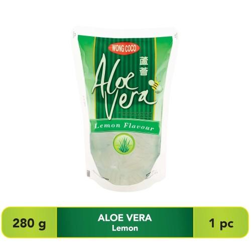 Foto Produk Wong Coco Aloe Vera Lemon 280Gr dari Wong Coco