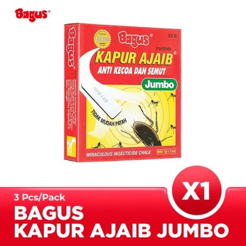 Foto Produk Bagus Kapur Ajaib JUMBO 3's dari Bagus Official Store