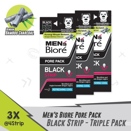 Foto Produk MEN'S BIORE Pore Pack 4s 3 Docket dari KAO Official Store