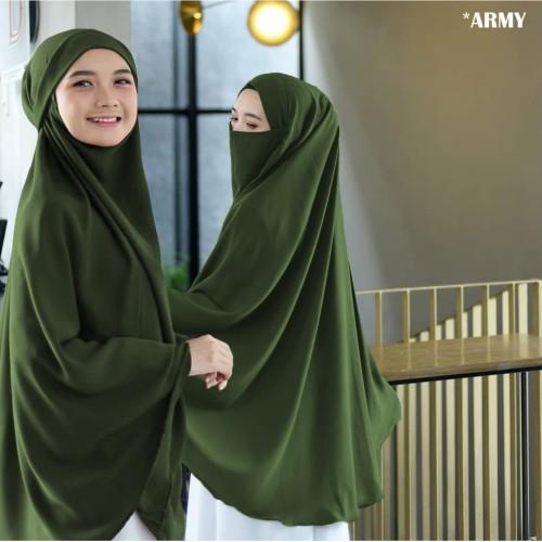 Foto Produk Jilbab Hijab Kerudung Instan French Khimar Cadar Madinah Syari Jumbo dari hijabafwa