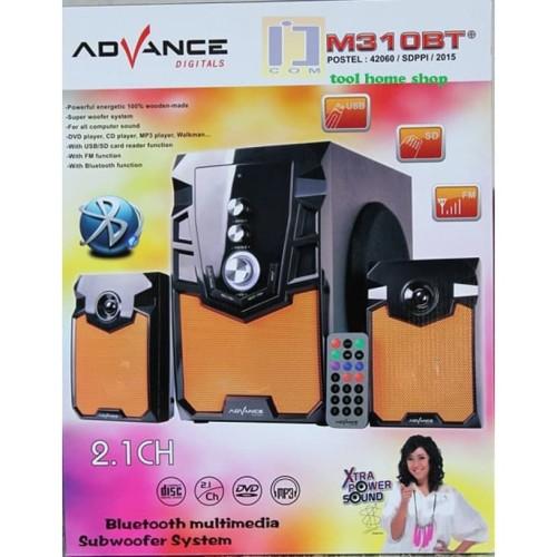 Foto Produk Advance M310BT Speaker Bluetooth Aktif 2.1 Subwoofer BASS dari Mars Pedia