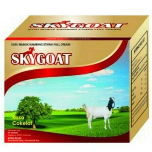 Foto Produk SKYGOAT / SKY GOAT SUSU KAMBING ETAWA BUBUK ORIGINAL 100% dari Pegro Indonesia