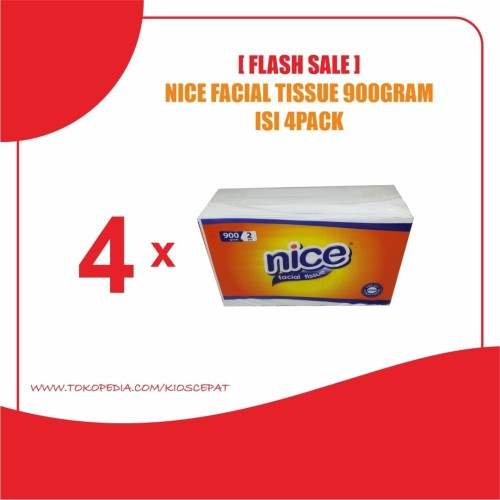 Foto Produk [FLASH SALE] Tissue NICE Facial 900Gram ISI 4PACK dari KiosCepat