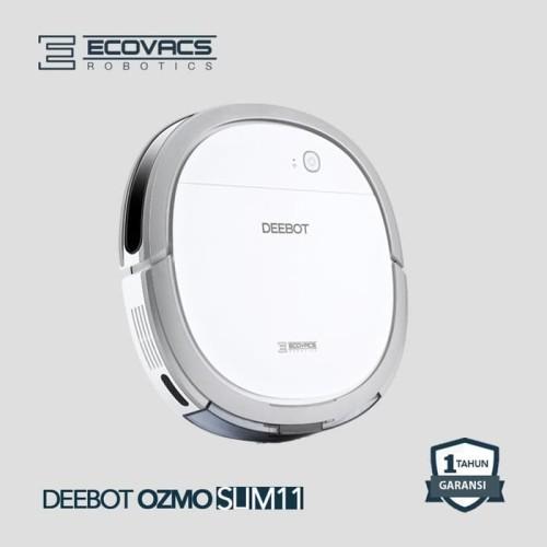 Foto Produk Ecovacs Deebot Ozmo Slim 11 Vacum Cleaner Robot Sapu Pel dari Oribu Baby Shop