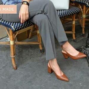 Foto Produk sappun heels block 8cm dari delicia boutique