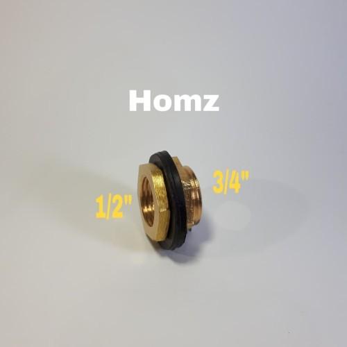 """Foto Produk Vlok Ring Toren 3/4 x 1/2"""" inch Kuningan Tangki/V Ring Tandon Kng Besi dari Homz"""