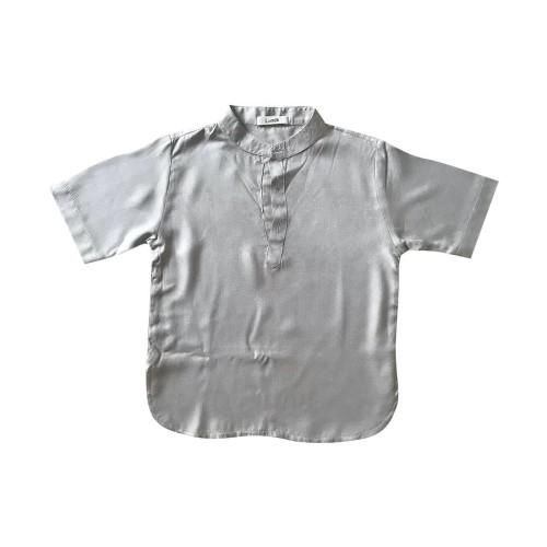 Foto Produk Lumik Khaki Plain Koko Short Sleeve - 2-3 tahun dari Lumik Baby Shop