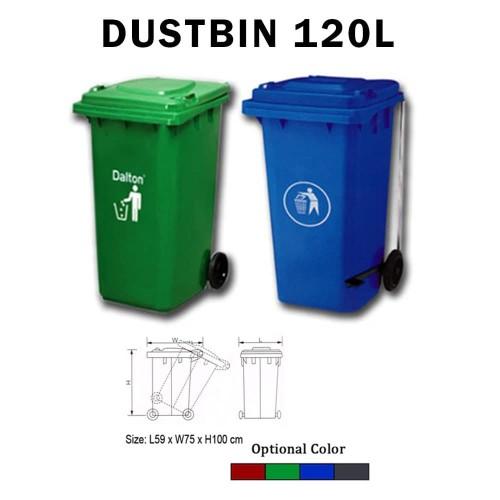 Foto Produk Tempat Sampah Dustbin 120L Dinas Perkantoran dan Perumahan dari Exis Toys